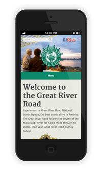 Experience Mississippi River Mockup