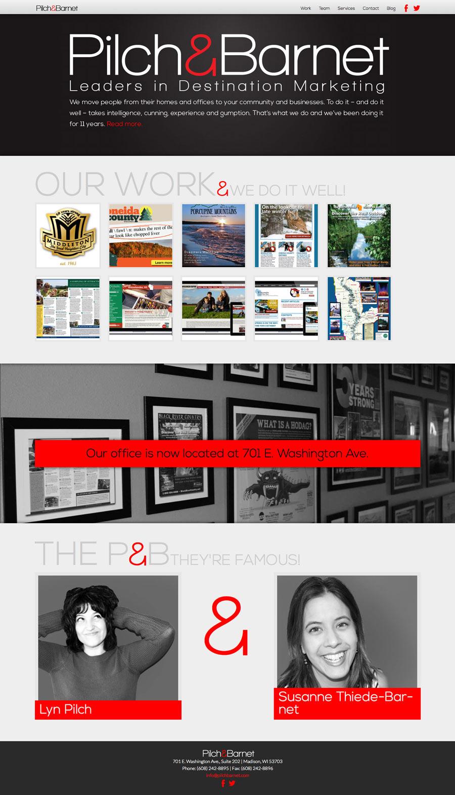 Pilch & Barnet Homepage