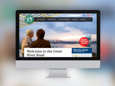 Experience Mississippi River Website